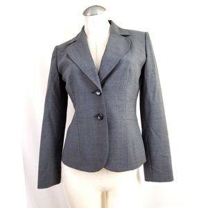 Ann Taylor Size 2P Gray Blazer 2 Petite